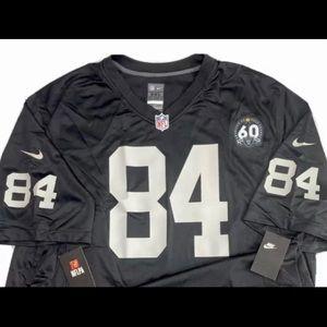 Original Nike NFL Raiders 60th Anniversary84 Brown